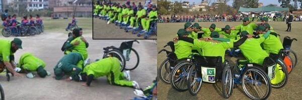 PAKISTAN WHEELCHAIR TEAM