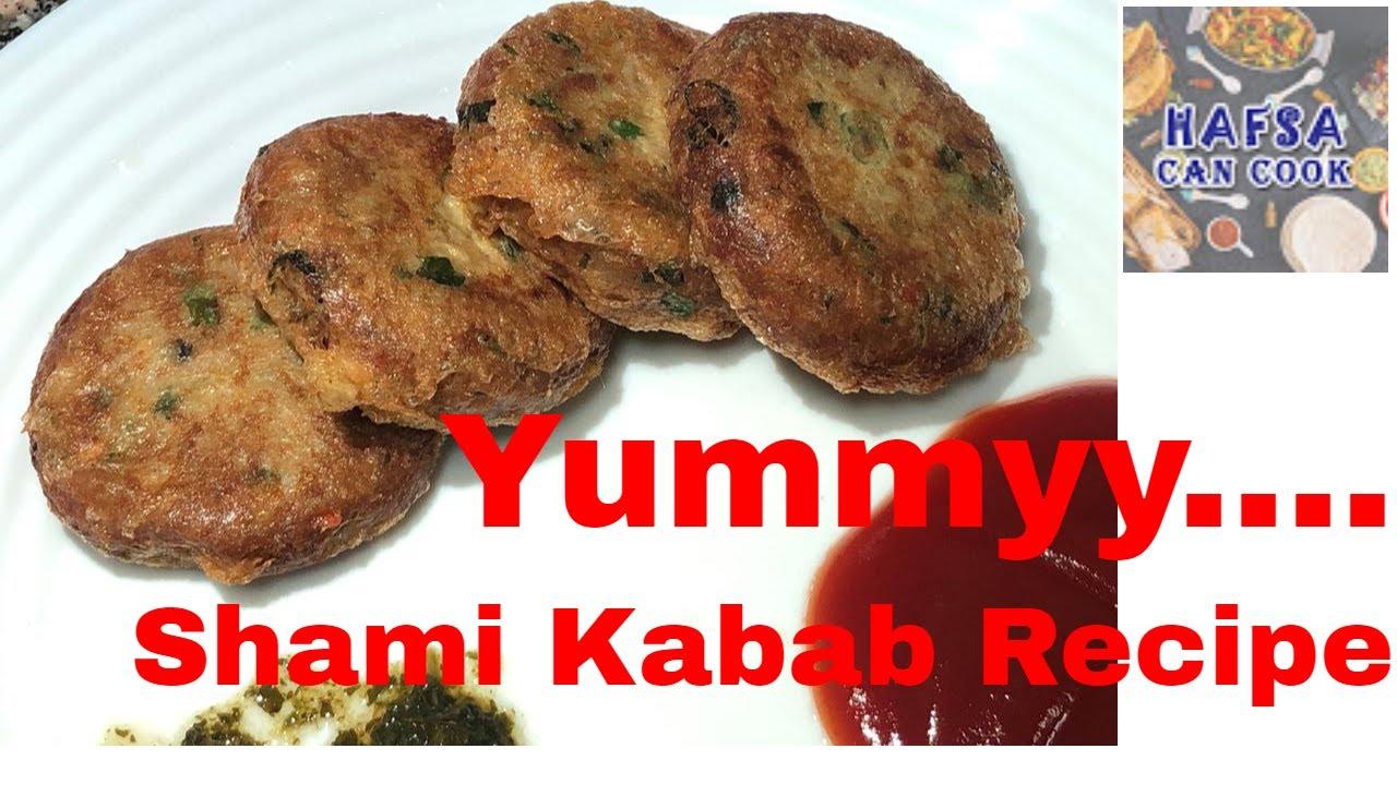 Fastest Chicken Shami Kabab Recipe in Urdu Hindi