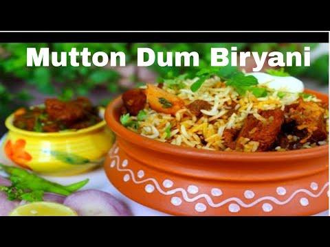 Fastest Dum Mutton Biryani Recipe in Urdu/Hindi