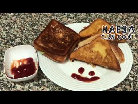 How to make Sandwich   Easy Recipe   4 types of Sandwiches