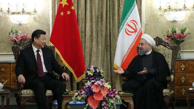 RUSSIA ALSO STOOD WITH IRAN AFTER CHINA AGAINST US THREATS