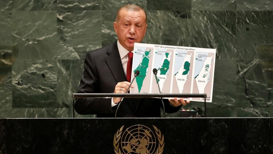 "TURKISH PRESIDENT RAISED ""KASHMIR ISSUE"" IN UN GENERAL ASSEMBLY"