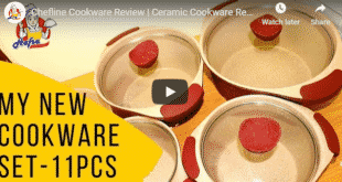 Chefline Cookware Review | Ceramic Cookware Review | 11 Pcs