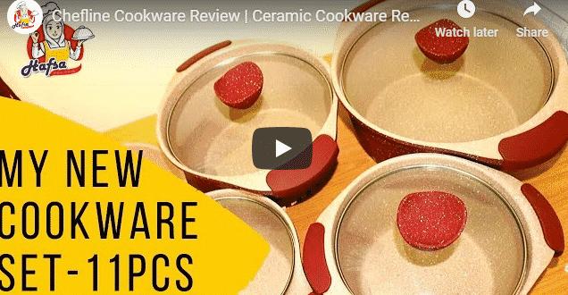 Chefline Cookware Review | Ceramic Cookware Review | 11 Pcs