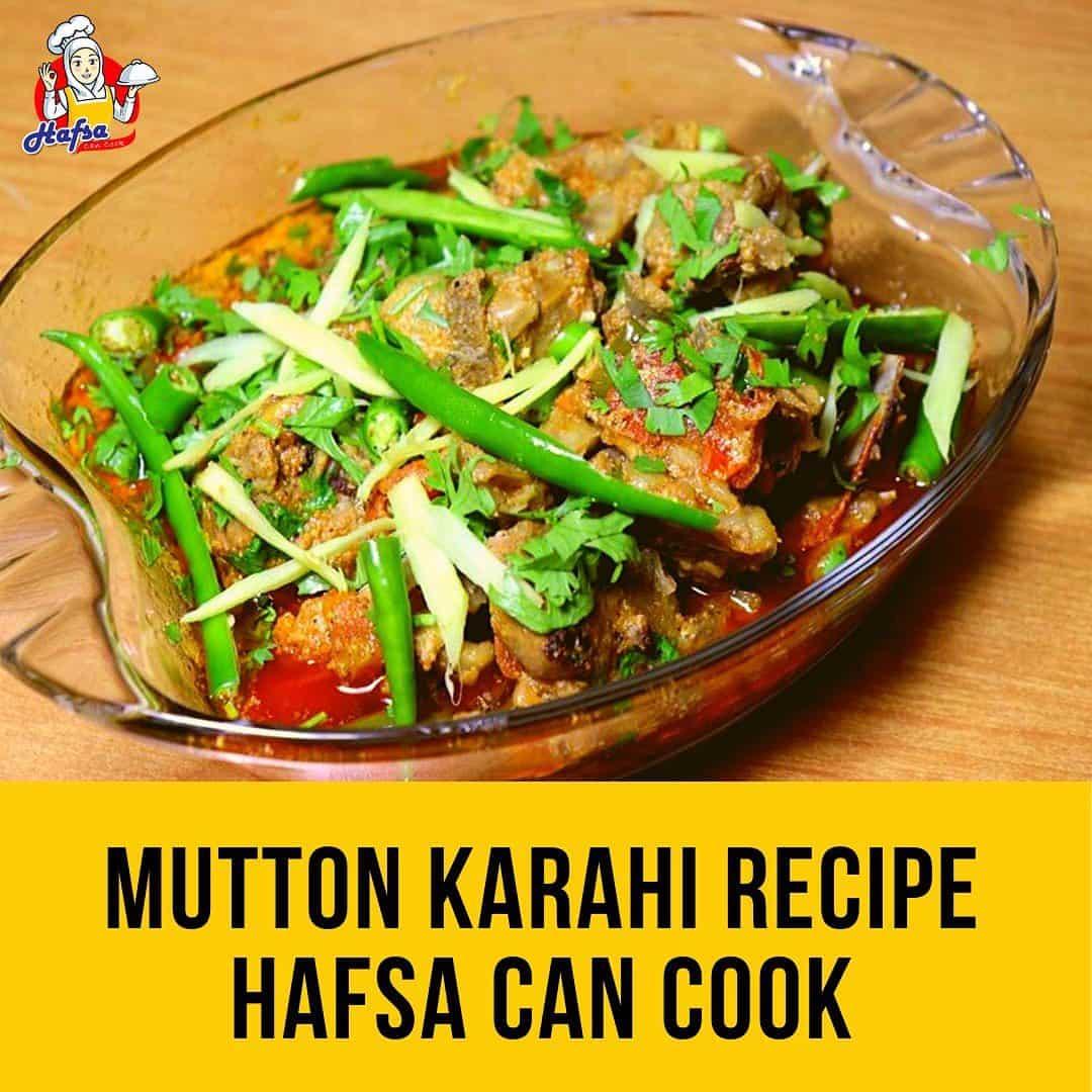 Fastest Mutton Karahi Recipe | Mutton Karahi Pakistani