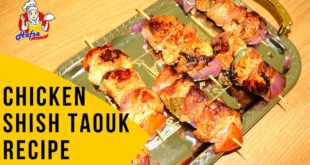Shish Taouk Chicken Recipe in Hindi Urdu | Lebanese and Syrian recipe - Hafsa Can Cook