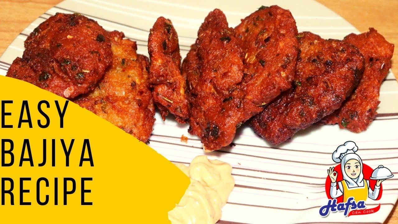 How To Make Bajiya   Easy Bajiya Recipe in Urdu Hindi
