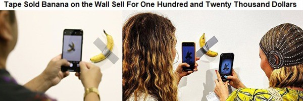 Tape sold Banana