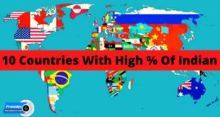 Top 10 Countries With the Largest Indian Populations 2019 In Hindi