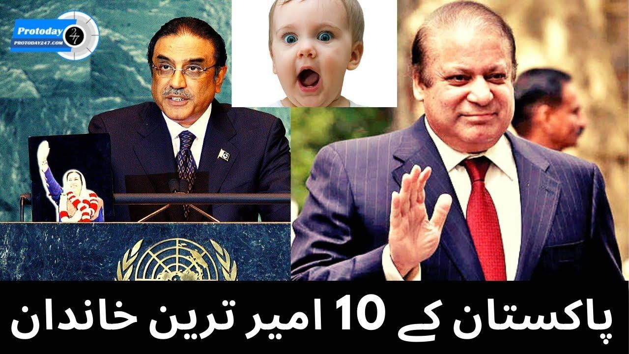 Top 10 richest person in Pakistan 2020 | 10 Richest Families In Pakistan