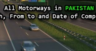 Motorways in Pakistan