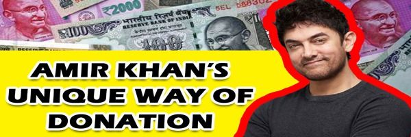 How Amir Khan ensured that the money reached the really needy people