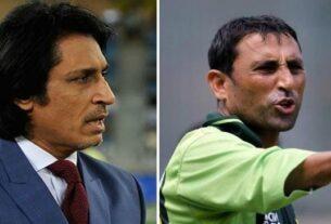 Younus Khan and Rameez Raja