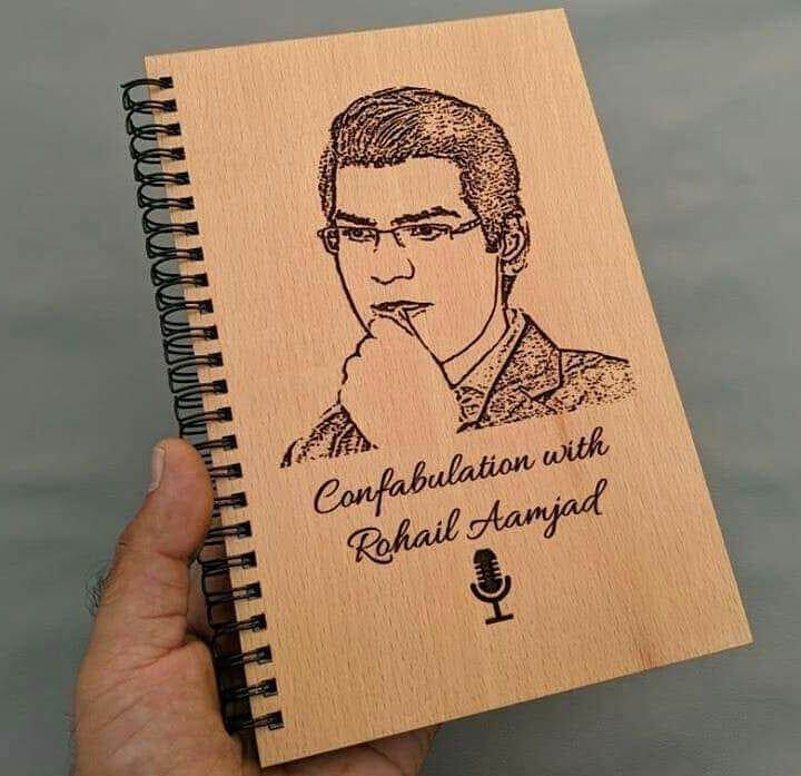Customized Wooden Picture Book Cover