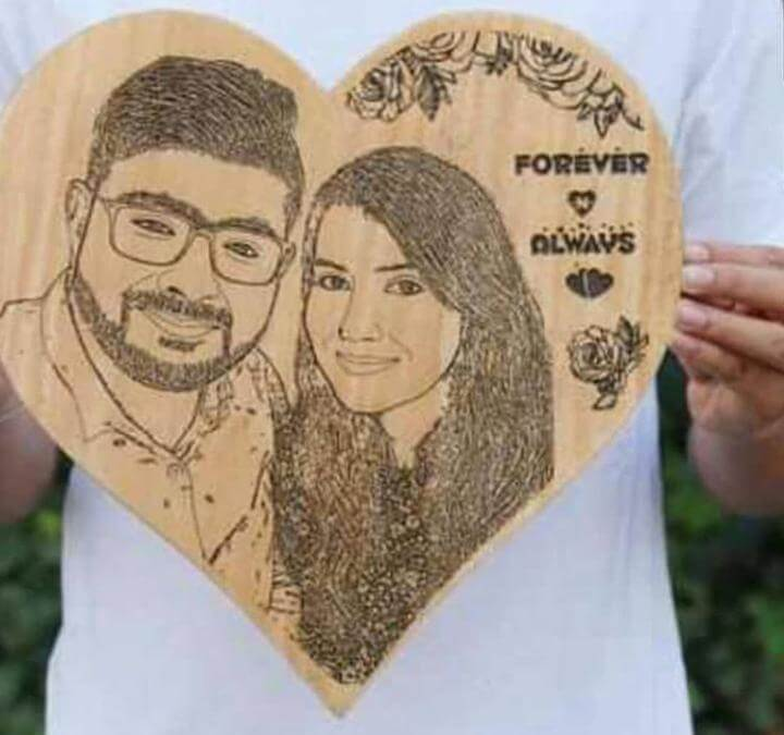 Customized Wooden Frame