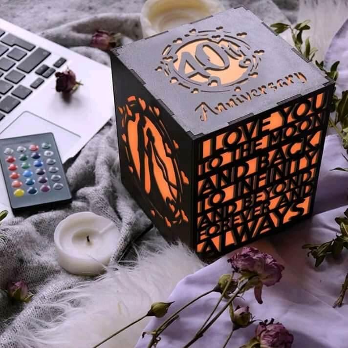 Customized Wooden LED Lamp