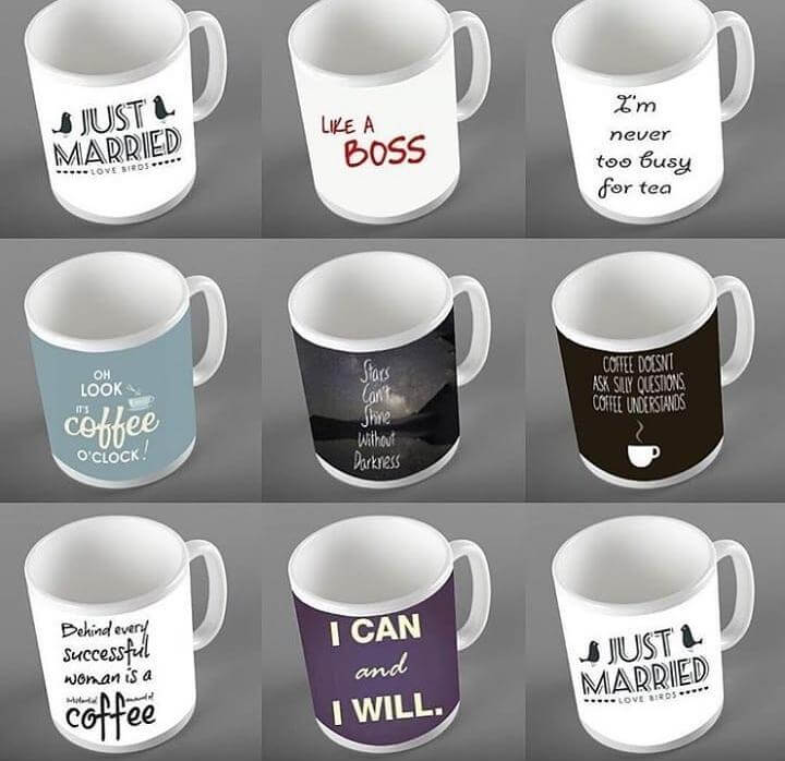 Customized Name/Pictures/Wishes Mug