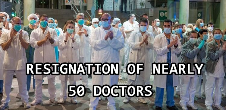 Resignation of nearly 50 doctors approved in Punjab following the coronavirus pandemic