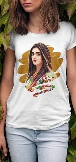 Customized Photolab Printed T-Shirt