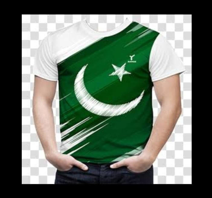 Customized 14 August Printed T-Shirt