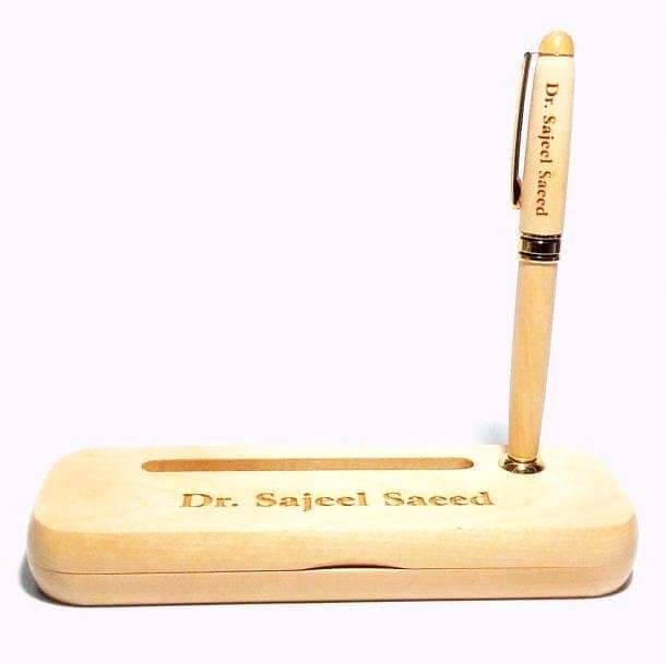 Customized Wooden Pen Case