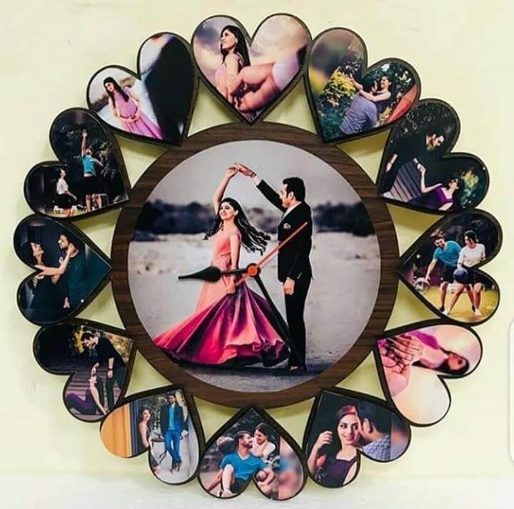 Customized Acrylic Wall Clock