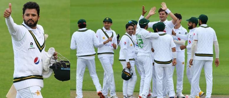 Azhar has defeated England