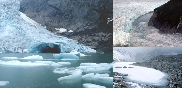glacier flooding