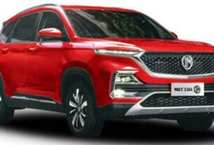 Javed Afridi Launching New MG Hybrid Car