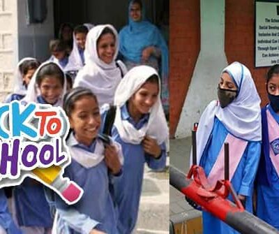 PAKISTAN WILL REOPEN SCHOOLS IN PHASES, BEGINNING ON SEPT 15