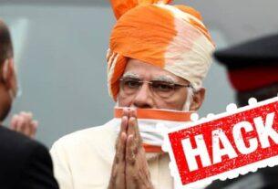 Real Modi website & Twitter account has been hacked