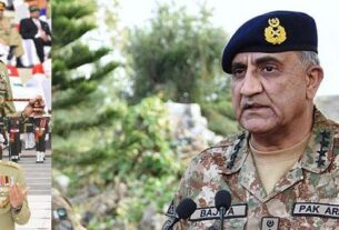 Army Chief visit to Karachi