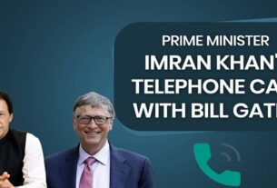 PRIME MINISTER IMRAN KHAN TELEPHONED BILL GATES