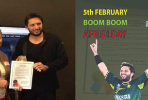 FEBRUARY 5 DECLARED AS SHAHID AFRIDI DAY BY TEXAS