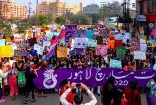 Aurat March Movement of Pakistan