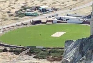 Beautiful Cricket Stadium Built in Gwadar