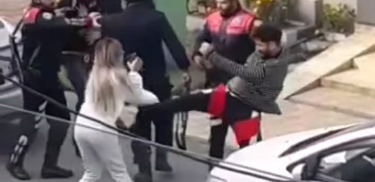 BILAL SAEED ATTACKED A COUPLE OUTSIDE HIS HOUSE IN LAHORE