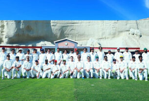 GWADAR STADIUM HOSTED FIRST-EVER CRICKET MATCH