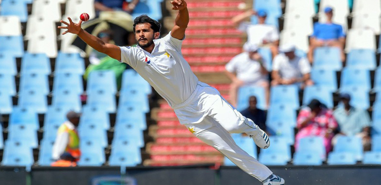 The Fast Bowler Hassan Ali