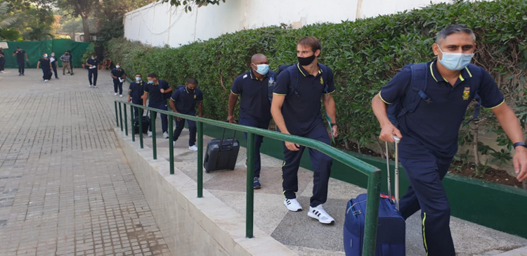 Welcome to Pakistan- South African Team Arrived Pakistan for the first tour in 14 years