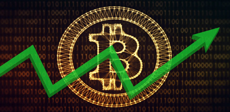 How has Bitcoin risen to the level of $58,000?