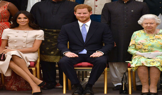 QUEEN ELIZABETH EXPRESSED PLEASURE TOWARDS PRINCE HARRY AND MEGHAN MARKLE