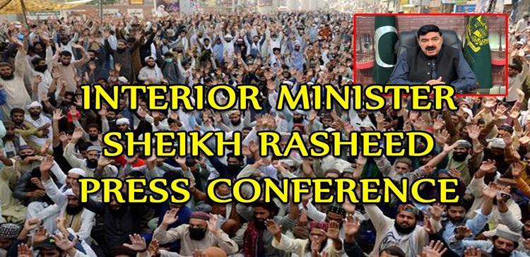 Sheikh Rasheed said All matters would be resolved with the TLP