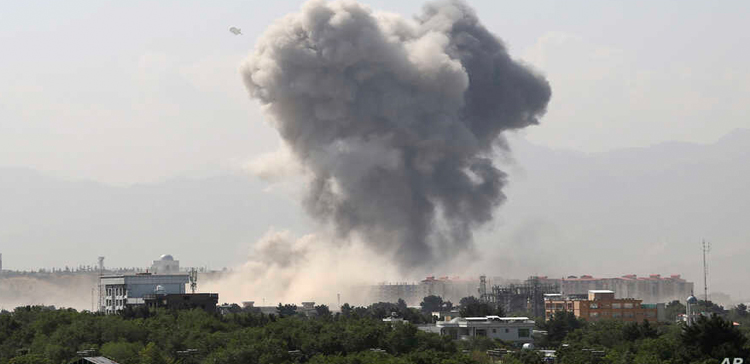 Bombing in the Afghan capital Kabul on two transport buses Kill at least 10, injury 12