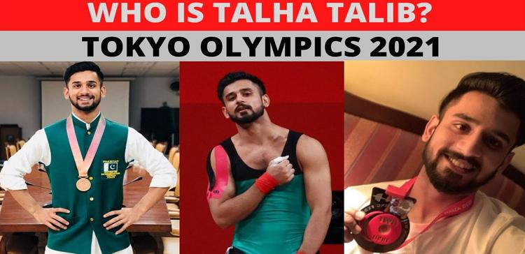 Talha Talib – Pakistani Weightlifter