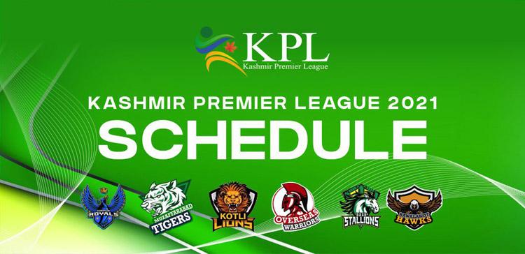 KPL 2021- Schedule, Timing